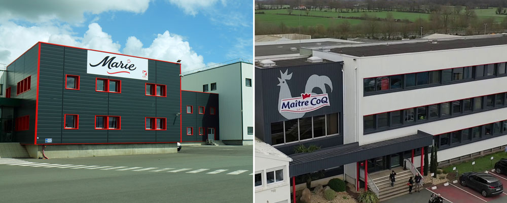 Consolidation: Acquisition of the Marie and Maitre CoQ companies