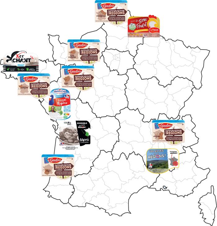 Les marques régionales
